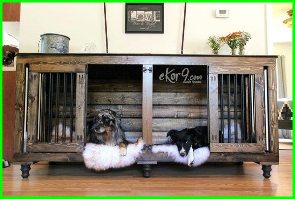 gambar kandang anjing dari kayu