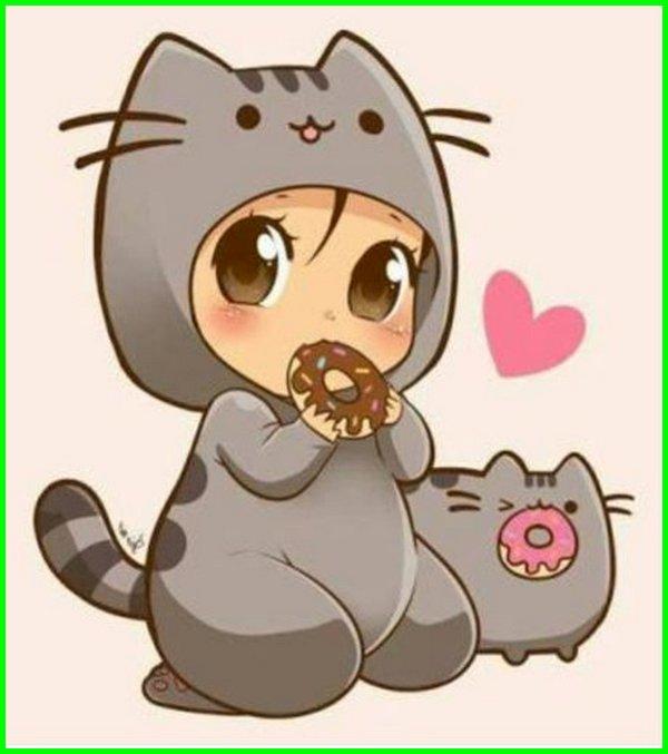 kucing kawaii