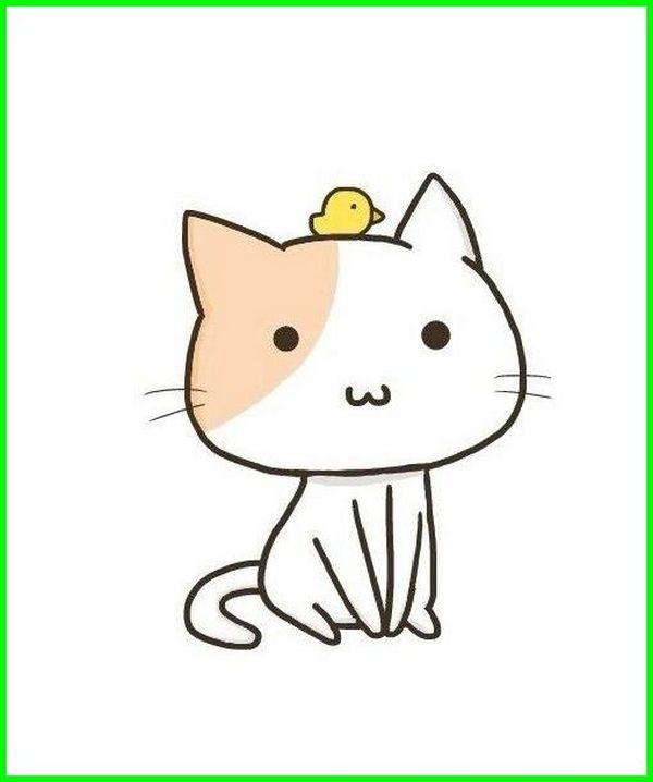 animasi kucing comel lucu imut