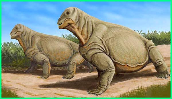 dinosaurus darat lambat