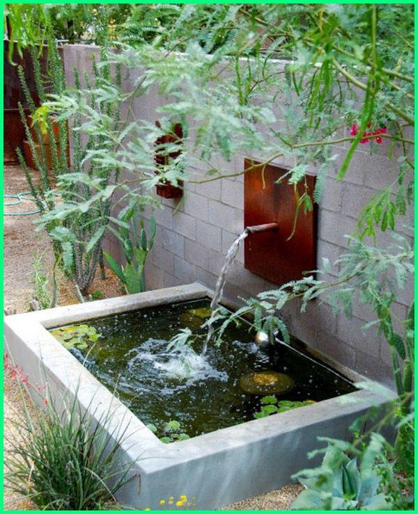 kolam ikan hias mini, kolam ikan hias minimalis depan rumah, kolam ikan hiasan, contoh kolam ikan hias, kolam ikan hias depan rumah minimalis