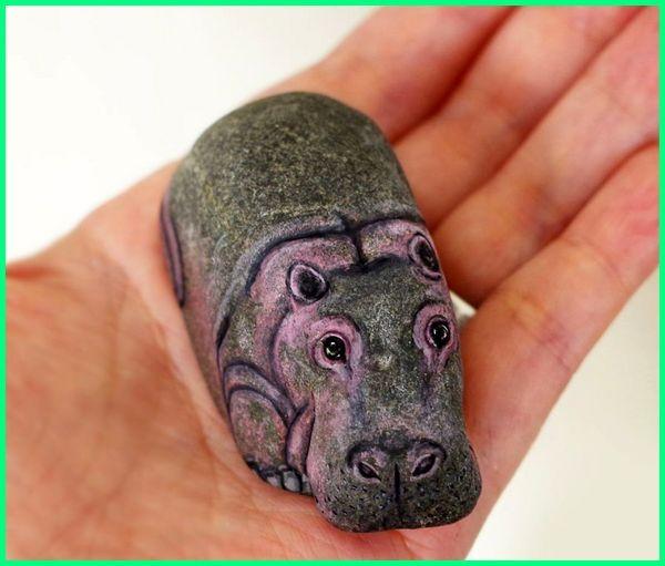 Karya seni hewan lucu, karya seni hewan unik, karya seni mozaik tentang hewan, karya seni dari bahan hewan