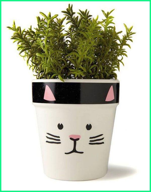 pot kaktus sukulen, pot kecil lucu, pot kecil keren, pot kecil unik