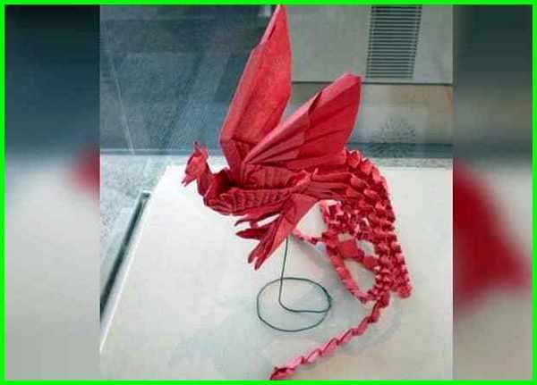 gambar origami burung Phoenix, gambar origami burung bangau, gambar origami burung kertas, gambar origami burung camar, cara membuat origami gambar burung