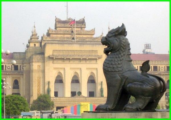 lambang hewan myanmar, nama hewan myanmar, hewan khas dari myanmar, hewan nasional myanmar, hewan negara myanmar, lambang hewan negara myanmar