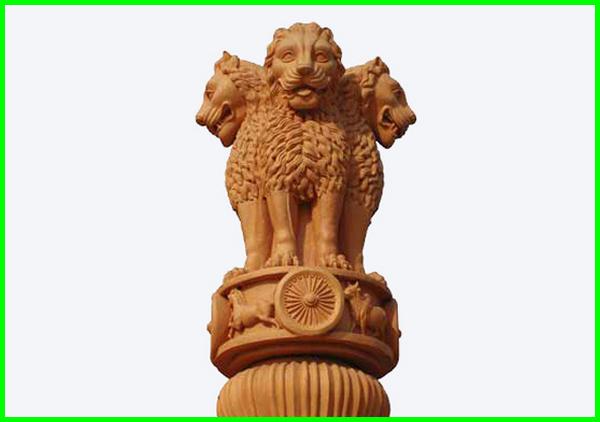lambang negara india, lambang negara india dan maknanya, arti lambang negara india, makna lambang negara india