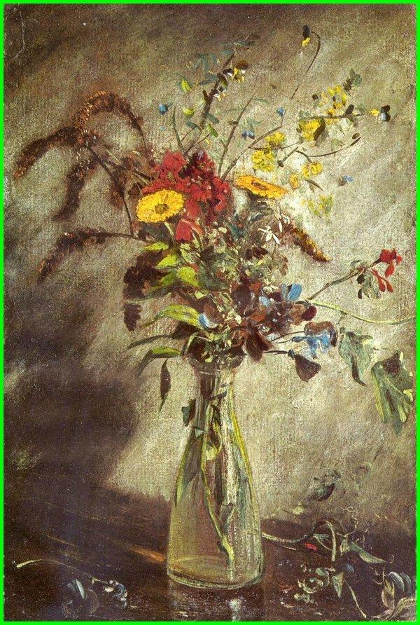 gambar bunga hasil lukisan, gambar bunga bunga, gambar bunga gradasi, gambar bunga indah, gambar bunga ilustrasi, gambar bunga keren
