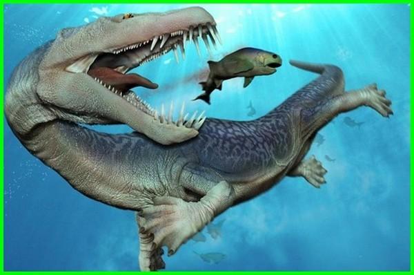 penampakan dinosaurus di laut, hewan dinosaurus laut, macam dinosaurus laut, laut zaman dinosaurus