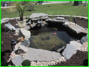 10 desain kolam hias sederhana depan rumah - dunia fauna